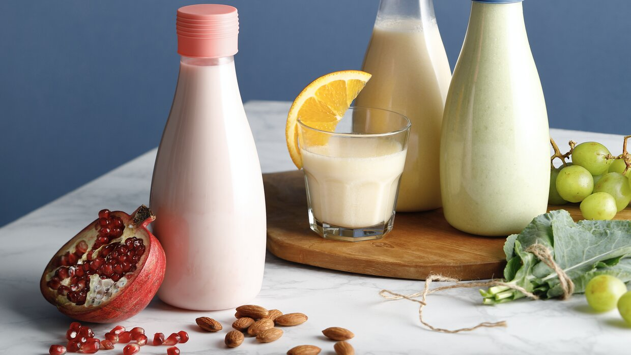 Flavored Homemade Almond Milk